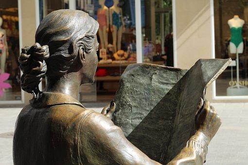 Reading, Culture, Statue, City, Bronze