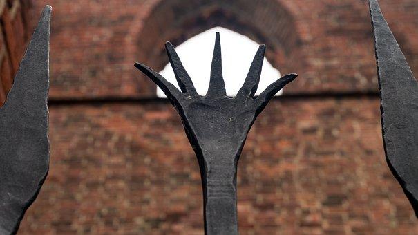 Iron, Metal, Fence, Metallic, Steel, Close, Old