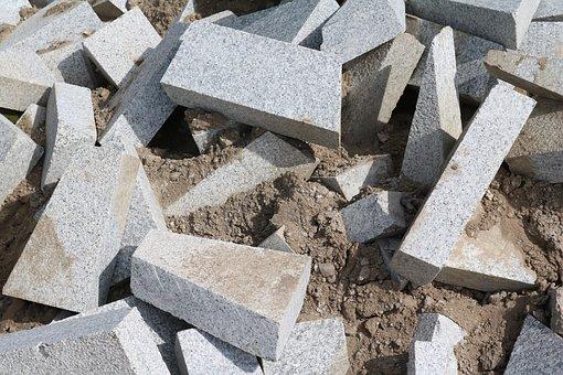 Landscape Format, Stones, Stone Slabs, Background