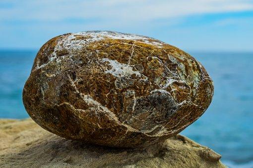 Stone, Sea, Nature, Rock, Water, Seashore, Balance, Zen