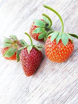 Fruit, Berry, Strawberry