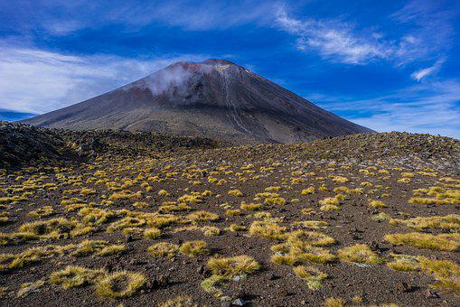 Volcano, Mount Doom, New Zealand, T, Tongariro