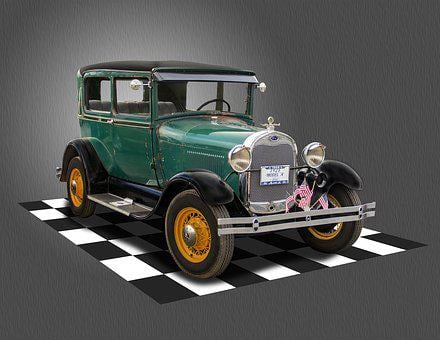 Ford, Model A, Classic Car, Transportation, Auto, Car