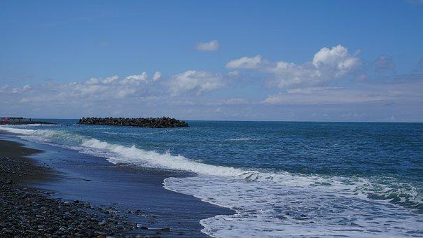 Sea, Beach, Wave
