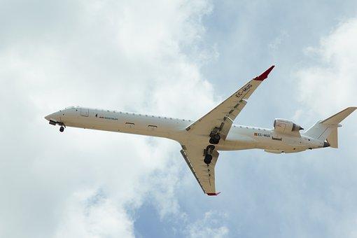 Aircraft, Airport, Landing, Aviation, Sky, Travel