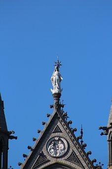Church, Tower, Architecture, Religion, Faith