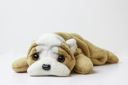 Beanie Baby, Plush, Toy, Plush Toy, Dog, Brown