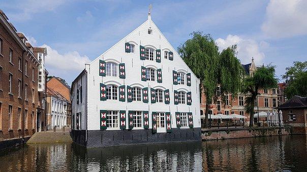 Lier, Belgium, Old Buildings, Facade, Architecture