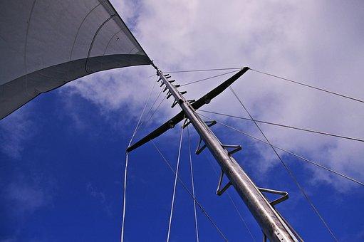 Sailing Boat, Sailing Vessel, Sail, Boat Mast, Fock