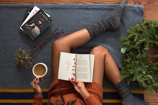 Books, Book, Reading, Library, Christmas, Holiday