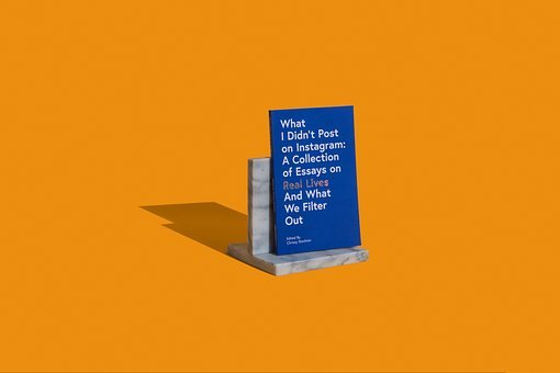 Books, Book, Reading, Library, Orange, Blue, Bookend