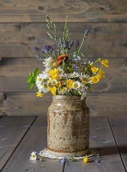 Flowers, Summer Flowers, Bouquet Of Flowers