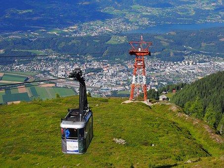 Mountain Railway, Destination, Cable Car, Mountains