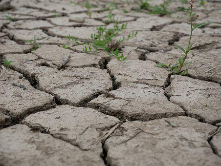 Earth, Cracked, Clay Soil, Dehydrated, Drought, Texture