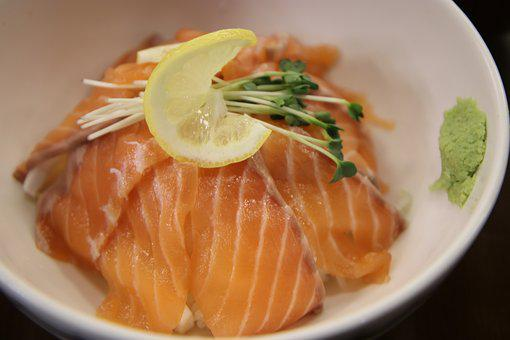 Salmon, Rice, Food, Delicious, Dining, Salmon Times