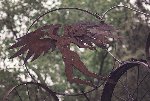 Angel, Steampunk, Metal, Fantasy, Vintage, Gothic