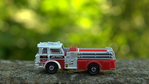 Toy, Fire Department, Fire Truck