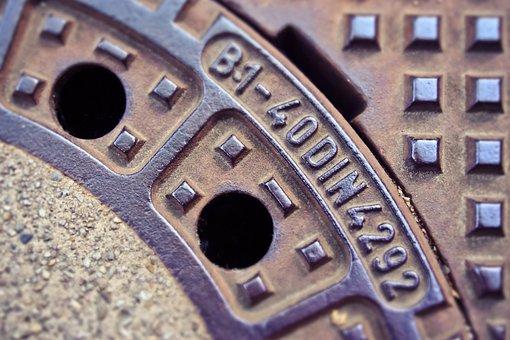 Road, Gulli, Gullideckel, Manhole Cover, Manhole Covers