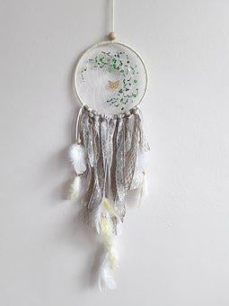 Dreams Catcher, Indian Culture, Mystery, Beaded, In