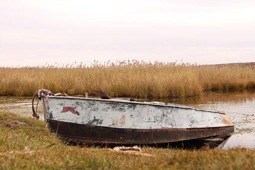 Nature, Boat, River, Lake, Ural, Osn, Boats, Vacation
