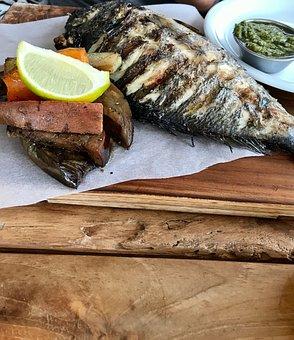 Food, Seafood, Fish, Gourmet, Lemon, Meal, Dinner