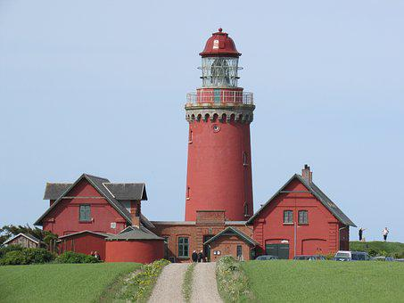 Denmark, Lighthouse, Places Of Interest