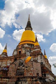Wat Yai Chai Mongkhon, Measure, Ayutthaya, Thailand