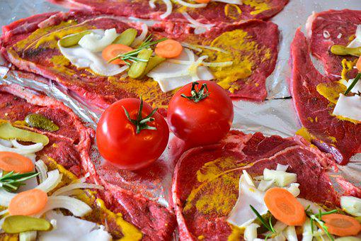Roulades, Beef Roulades, Raw, Prepare, Meat Rolls, Meat