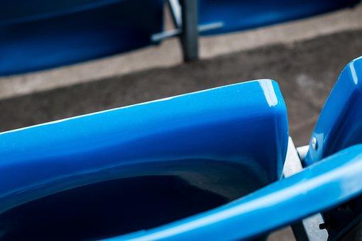 Seats, Blue, Chair, Modern, Seating, Public, Design