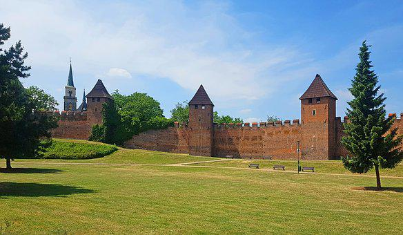 Nymburk, The Walls Of The, Monument, Czech Republic
