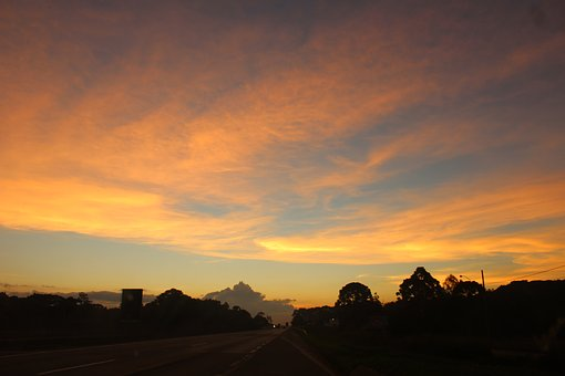 Landscape, End Of Afternoon, Nature, Eventide, Vista