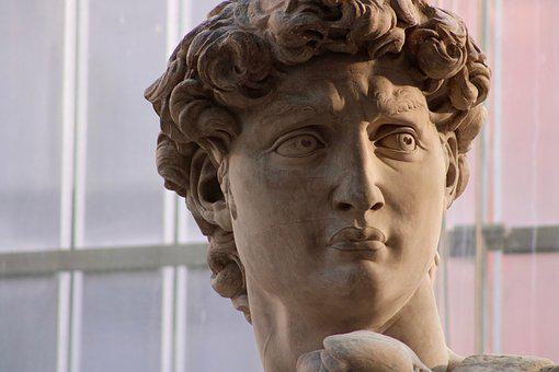 David, Antiquity, Antique, Statue, Old