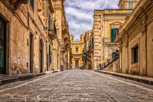 Alley, Road, Patch, Old Town, City, Old, Architecture