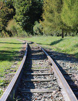 Rail, Train, Track, Former, Transportation, Switch