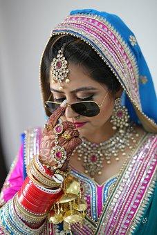 Swag Bride, Bride, Fashion, Pink, Blue, Gold, Red