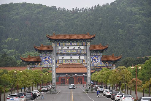 The Memorial Arch, Temple, Buddhism