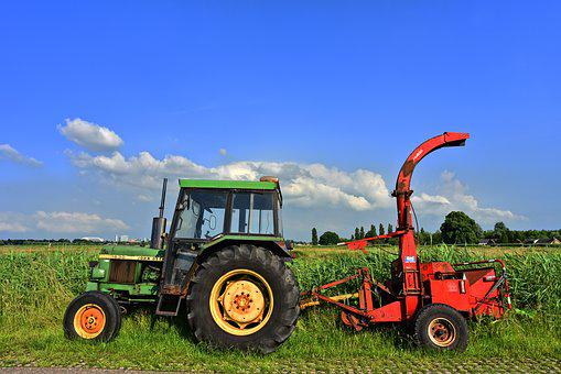Tractor, Vehicle, Heavy Equipment, Traction, Tow, Pull