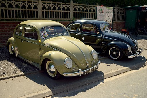 Volkswagen Beetle, Ladybug, Old Car, Vintage, Retro