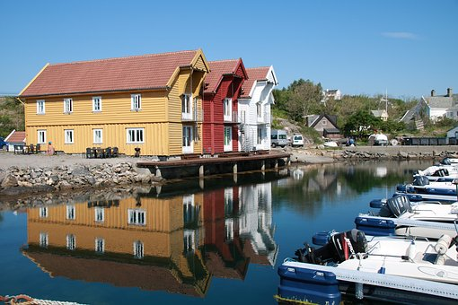 Nøst, West Country, Sotra, Norway, The Nature Of The