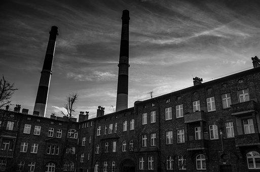 Nikiszowiec, A Village For The Workers, Chimneys