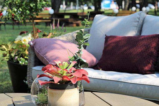 Relaxation, Armchairs, Zagreb Floraart 2018, Exhibition