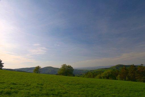 Landscape, Mountains, Sky, Holidays, Beauty, Spring