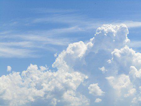 Sky, Blue, Clouds, Blue Sky, Blue Sky Clouds