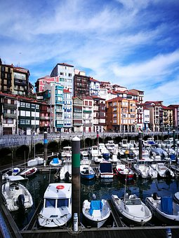 Port, Boats, Fishing, Jetty, Houses Of Fishermen
