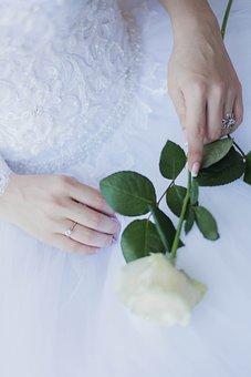 Bride, Flowers, Wedding, Beauty, Bridal Bouquet, Woman