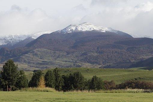Chacobuco, South America, Andes, Mountains Scene