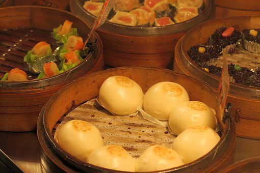 Steamed Stuffed Bun, Food, China, Gourmet, Lunch, Meals