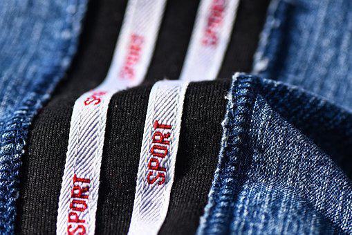 Denim, Fabric, Textile, Material, Cloth, Piping