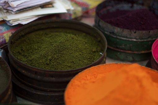 Color, Dust, Pigment, Dye, Natural Dyes, Colorful