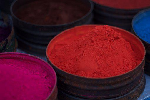 Color, Red, Dust, Pigment, Dye, Natural Dyes, Colorful